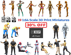 taser C1 19 1 64 Scale 3d Print Miniatures