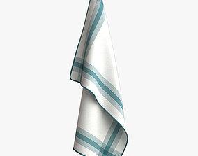 Kitchen Towel - T10 3D model
