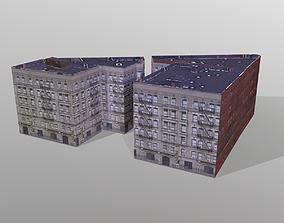 3D asset Multi -story house