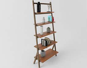 Poltrona Frau Ren Bookcase 3D model