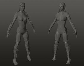 3D printable model character