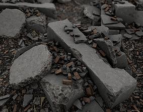 3D Debris Piles