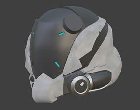 Deacon T Halsey helmet from Blacklight 3D printable model