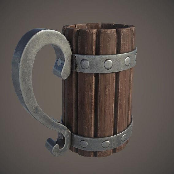 Viking / medieval mug