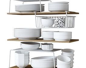 ceramic 3D Kitchen decor set
