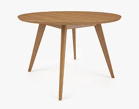 3D model Knoll Risom Dining Table