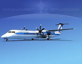 Dehaviland DHC-8 400 Gulf Coast 3D
