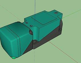 Roller Coaster Rail Sensor 3D model