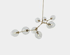 Branch pendant lamp 3D model