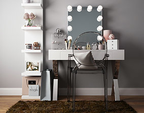 3D model Dressing table 01