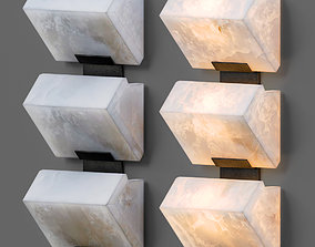 light Architectural Pierre Chareau Sconces 3D