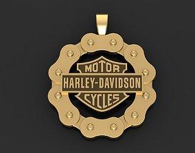 Pendant Harley Davidson 3D printable model