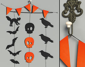 Halloween Treats wall decor 3D model