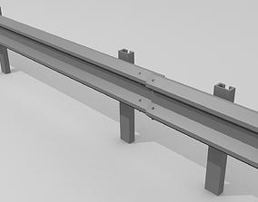 Traffic railing 3D