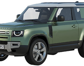 Land Rover Defender 90 2020 3D model