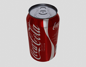 Coke Can 3D asset VR / AR ready