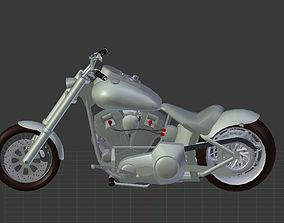 3D model Harley Davidson Custom bike