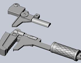 Overwatch Torbjorn Brigitte Wrench 3D printable model 1