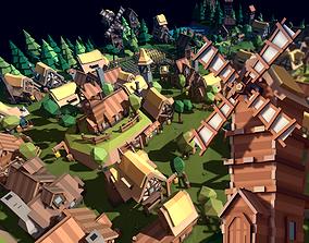 TARBO - Fantasy Village Pack 3D model