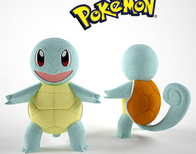 Squirtle Pokemon 3D