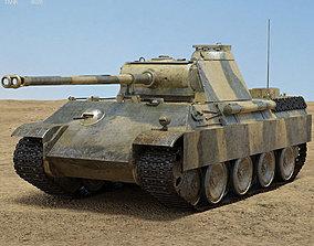 Panther 3D model