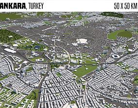 3D Ankara Turkey