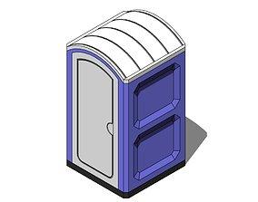 Portable Toilet - Revit Family work 3D