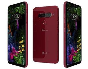 LG G8s ThinQ Carmine Red 3D model