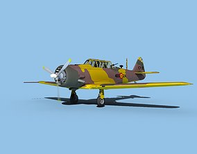 3D model North American AT-6 Texan V13 Spain