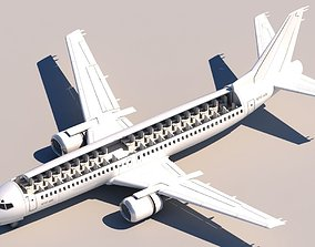 737 400 Cuttout 3D model