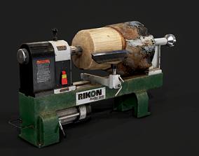The Rikon mini lathe 3D asset
