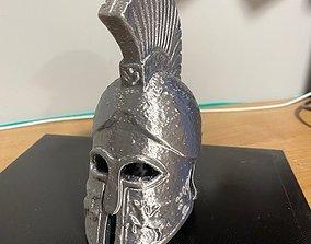 3D print model figurines Spartan Helmet