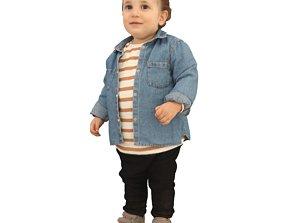 No354 - Baby Standing 3D model