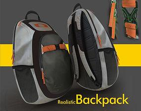 case backpack or day day pack 3D Product model