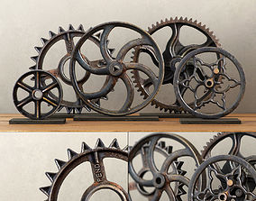3D model WHEEL and GEAR COLLECTION