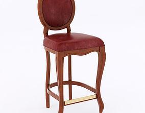 Ottocento 0205B bar stool 3D model
