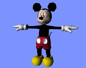 Mickey Mouse AAA 3D model