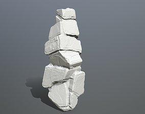 Rock Print hand 3D printable model