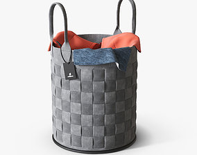 Laundry basket 3D container
