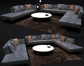 Sofa FLEXFORM ADDA 3D model