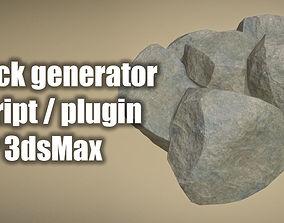 Rock Generator Max Script for 3dsMax