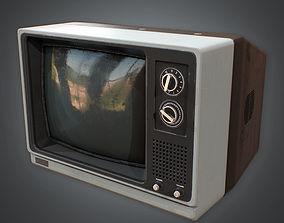 Television 03 Retro 80s 3D model