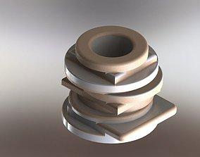 3D Vase 2 ceramic