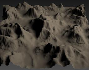 hill 3D model Terrain