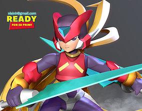3D print model Mega Man Zero