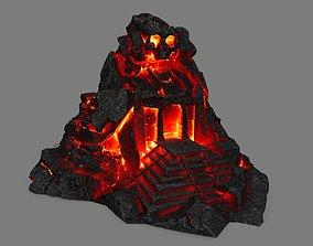 lava skull gate 3D model