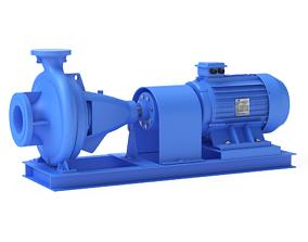 power 3D model Centrifugal Pump