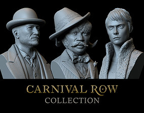 3D Carnival Row Collection