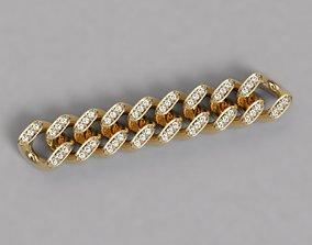 Eslavon para pulsera y cadena link for bracelet and 3D