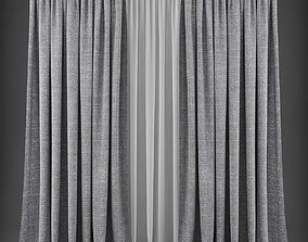realtime Curtain 3D model 316